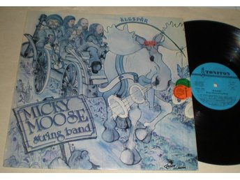 Micky Moose String Band - Älgspår LP / Toniton 1976