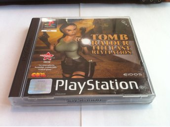 PS1/PSone: Tomb Raider: The Last Revolution