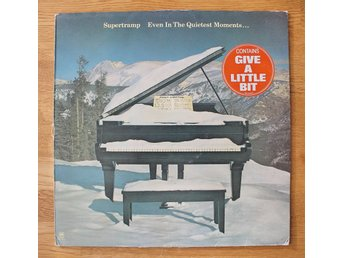 SUPERTRAMP -- EVEN IN THE QUIETEST MOMENTS --- 1977.  Made in Holland
