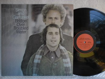 SIMON AND GARFUNKEL - BRIDGE OVER TROUBLED WATER - PC 9914