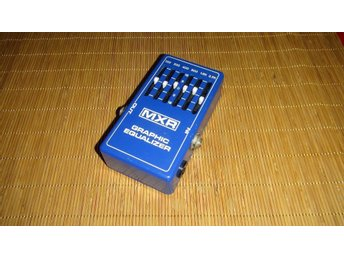 MXR Equalizer - Vintage pedal 1976 - 6 band Eq