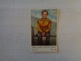 Nr 40 Alan Ladd- Serie S 1957- Stor  text