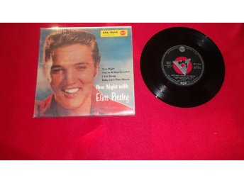 "Elvis Presley ""One night with Elvis Presley"" EP"