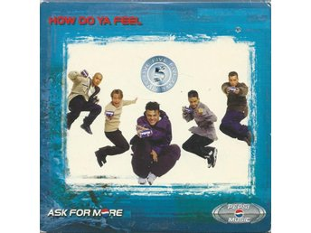 FIVE - HOW DO YA FEEL   (CD MAXI/SINGLE )