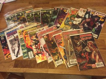 20st Marvel tidningar, Marvel Zombies 2, World War Hulk, Spider-man/Red Sonja mm