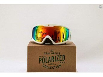 "Splitternya  ""ZEAL POLARIZED WHITE""SKIDGLASÖGON. Ordinarie pris:2995:-"