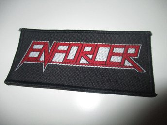 Enforcer tygmärke / patch (hårdrock)