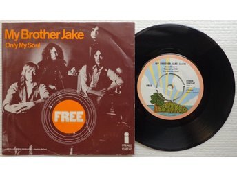 "FREE 'My Brother Jake' 1971 Dutch 7"" - Bröndby - FREE 'My Brother Jake' 1971 Dutch 7"" - Bröndby"