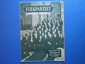 Folkpartiet nr 1 1949