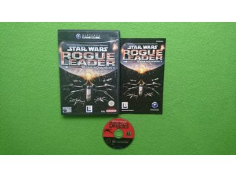 Star Wars Rogue Leader Rogue Squadron ENGELSK UTGÅVA KOMPLETT GameCube Game Cube