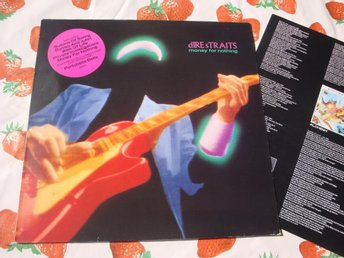 DIRE STRAITS - MONEY FOR NOTHING LP 1988