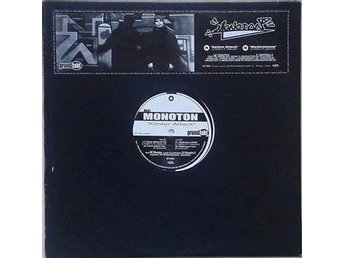 "MC Monoton title* Konter Attack* Electro 12"" SWE"