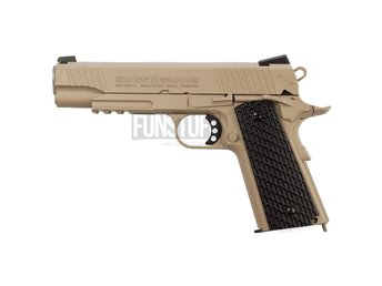 Swiss Arms SA 1911 Military Rail 4,5mm, Tan
