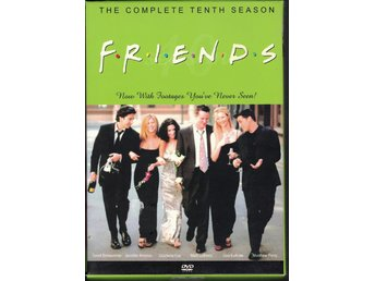 FRIENDS The Complete Tenth Season 4 DVD 2003 Import