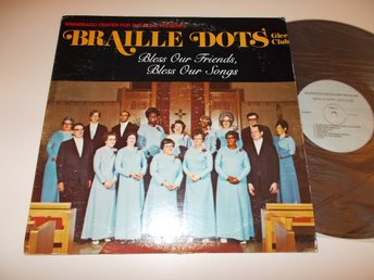 WINNEBAGO CENTER FOR THE BLIND - Braille Dots Glee Club, UDDA LP USA 70-tal