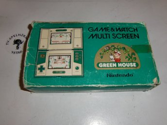 Game & Watch Green House med Bergsala manual