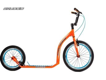 CRUSSIS Sparkcykel kickbike Active 4.2