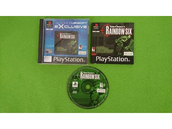 Tom Clancys Rainbow Six KOMPLETT PSone ps1