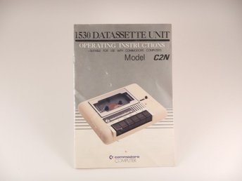 Commodore 64 / C64   --  Manual Bandstation Datasette --  PAL