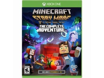 Minecraft: Story Mode - The Complete Adventure (Episodes 1-8 - XBOX ONE