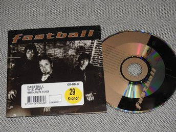 Fastball - The Way CD Singel (pappfodral)