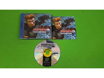 Fighting Force 2 KOMPLETT Sega Dreamcast