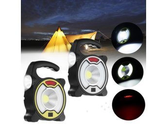 Portable Rechargeable Solar LED Flood Light Camping Lamp ...