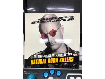 Laserdisc - Natural Born Killers - Dubbel