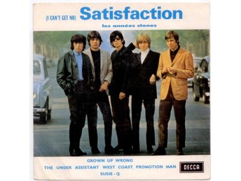ROLLING STONES - Satisfaction  EP  Frankrike