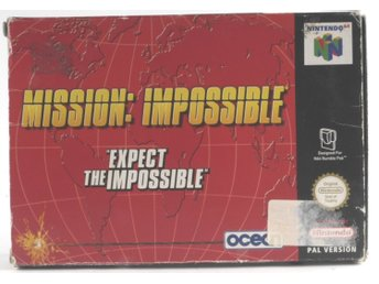 Mission: Impossible - N64 - PAL (EU)