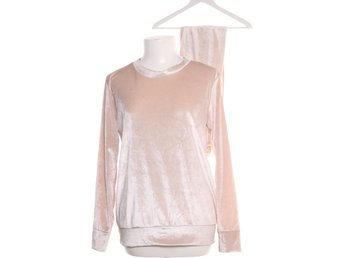 Missi London, Set, Strl: M/L, Velour, Beige