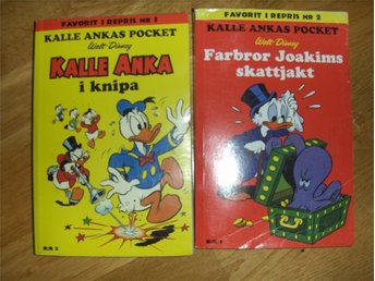 KALLE ANKA Pocket FAVORIT I REPRIS #2+3, 2009