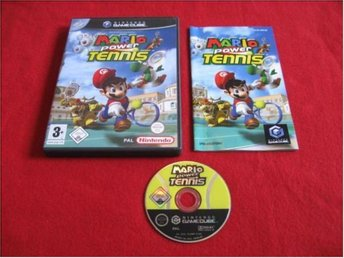 MARIO POWER TENNIS till Nintendo Gamecube GC