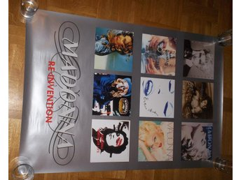 MADONNA (poster, affisch) 61x91cm, Re-Invention covers LP