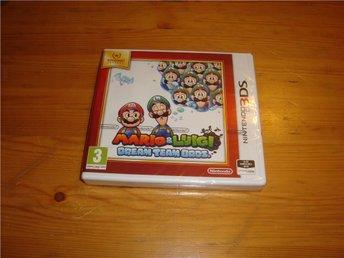 Nintendo 3DS: Mario & Luigi Dream Team Bros - NYTT INPLASTAT - Gammelstad - Nintendo 3DS: Mario & Luigi Dream Team Bros - NYTT INPLASTAT - Gammelstad