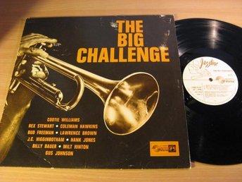 Big Challenge. V/A C Williams, Hawkins, B Freeman mm. 60 s Jazztone. - Sjulsmark - Big Challenge. V/A C Williams, Hawkins, B Freeman mm. 60 s Jazztone. - Sjulsmark