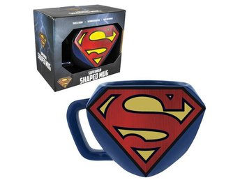 Mugg 3D - DC Comics - Superman Logo Shaped