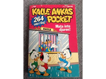 Kalle Ankas pocket nr 94