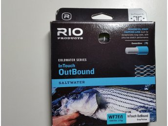 Helt ny !  Rio Intouch Outbound WF7 Float/Int. Saltwater