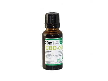 CBD olja 20 ml, 400mg CBD