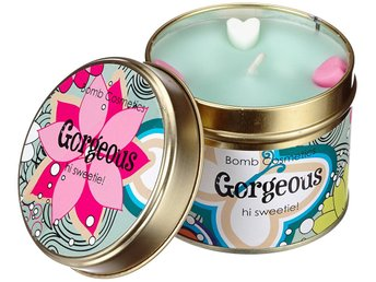 Bomb Cosmetics Tin Candle Gorgeous