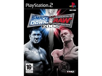 WWE Smackdown Vs Raw 2006 - Playstation 2 PS2