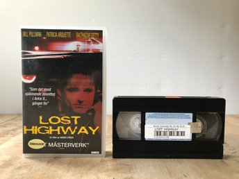 VHS Lost Highway - FD Hyrfilm - David Lynch