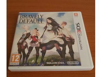 Bravely Default Nintendo 3DS Spel