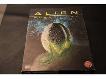 DVD-box: Alien - Quadrilogy (9 discar)
