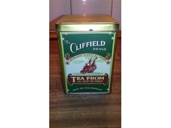 THE CLIFFIELD BRAND TEA FROM ALL OVER THE WOLD I PLÅT