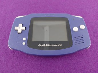 Game Boy Advance Basenhet Lila Fint Skick