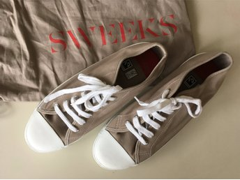 Skor sneakers Sweeks of Sweden 43 beige
