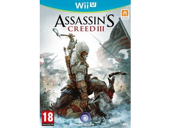 Assassin's Creed 3 III Nintendo Wii U