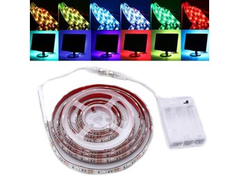 30/50/100/150/200CM Dimmable RGB 5050 LED Strip Light USB...